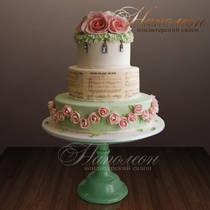 Свадебный торт № 158 С