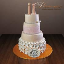 Свадебный торт № 161 С