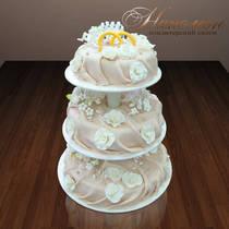 Свадебный торт № 048 С