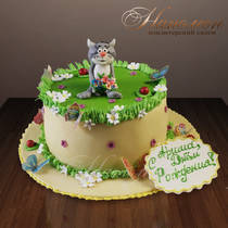 Торт котенок № 203 Д