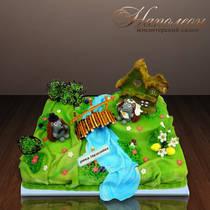 Свадебный торт № 098 С