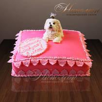 Торт с собачкой № 212 Д