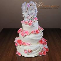 Свадебный торт № 166 С