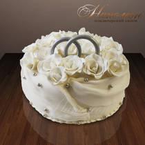 Свадебный торт № 168 С