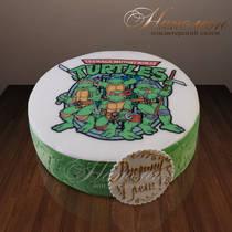 Торт черепашки ниндзя № 214 Д