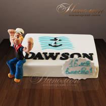 """Корпоративный торт """"Dawson"""" № 039 K"""