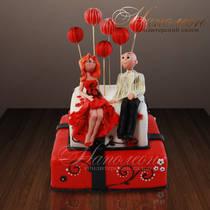 Свадебный торт № 169 С