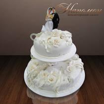 Свадебный торт № 106 С