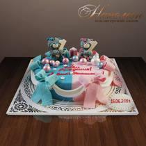 Торт близнецам № 223 Д