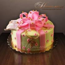 Торт на крестины № 225 Д