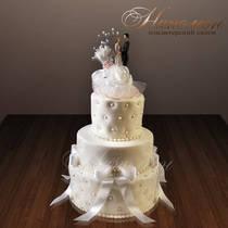 Свадебный торт № 176 С