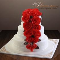 Свадебный торт № 177 С