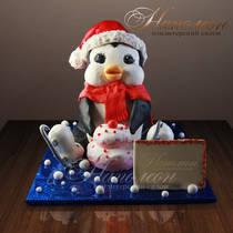 Торт пингвин № 227 Д