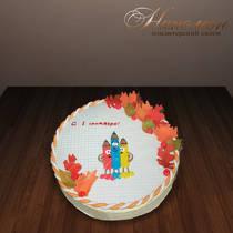 Торт на 1 сентября № 332 Д