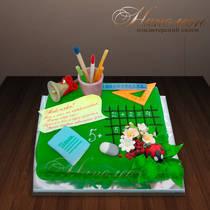 Торт на 1 сентября № 328 Д