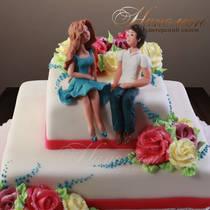 Свадебный торт № 183 С