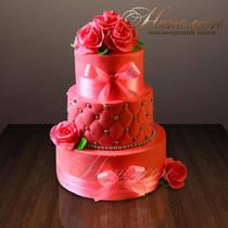 Свадебный торт № 189 С