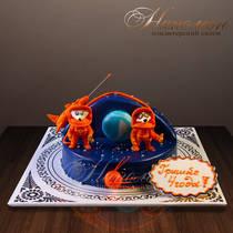 Торт космос № 233 Д