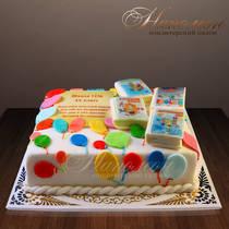 Торт на выпускной № 241 Д
