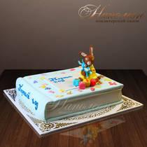 Торт на день рождения на год № 243 Д