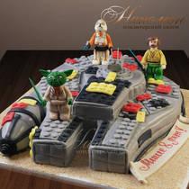 Торт Звездные войны и Лего № 256 Д
