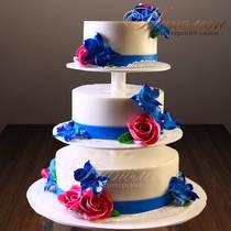 Свадебный торт на этажерке № 195 С
