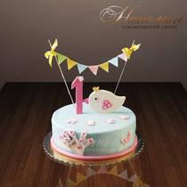 Торт на годик № 263 Д