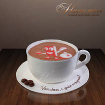 "Торт ""Чашка кофе"" № 012 ор"