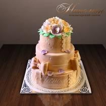 Свадебный торт № 198 С