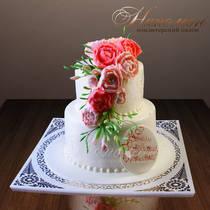 Свадебный торт № 205 С
