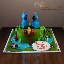 Детский торт Рио № 279 Д