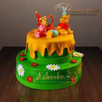 Детский торт Винни Пух № 280 Д
