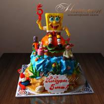 Детский торт Спанч Боб № 282 Д