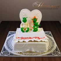 Свадебный торт № 218 С