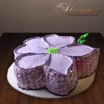 Торт цветок № 127 Т