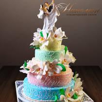 Свадебный торт № 226 С