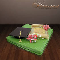 Торт на выпускной № 014 K