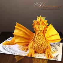 Торт дракон № 036 Вип