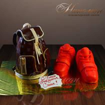 Торт Рюкзак № 059 М