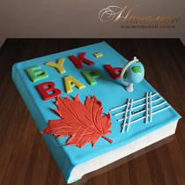 Торт на выпускной из садика № 324 Д