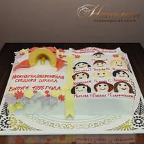 Торт на выпускной № 327 Д