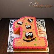 Торт на 1 год № 334 Д