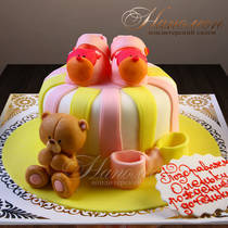 Торт с мишкой № 355 Д