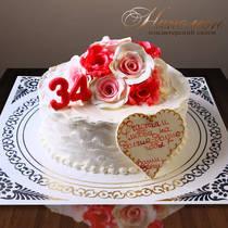 Торт на юбилей № 147 Т