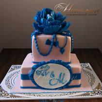 Свадебный торт № 247 С