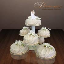 Свадебный торт № 040 С