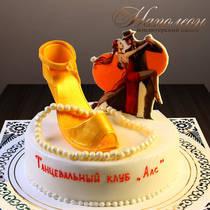 Торт танцору № 033 П