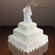 Свадебный торт № 057 С