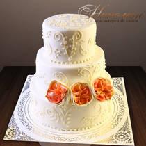 Свадебный торт № 256 С