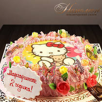 Торт Китти № 419 Д